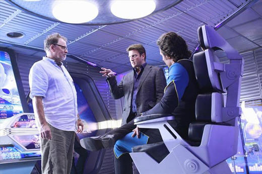'Castle' visits the Final Frontier: The Star Trek: Next Generation star directs The Final Frontier (airing Nov. 5), which sees Castle and Beckett discovering the world of sci-fi fandom and a convention.