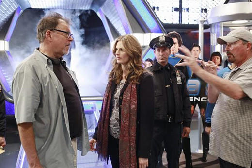'Castle' visits the Final Frontier: �