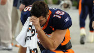 "New York Jets backup quarterback Tim Tebow has a trademark on ""Tebowing. """