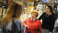 Mikulski, Watson tour Main Street Ellicott City
