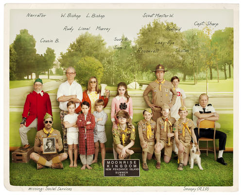 "Wes Anderson's rapturous story of young love, ""Moonrise Kingdom,"" won raves from critics and audiences alike, making it the filmmaker's most successful movie since ""The Royal Tenenbaums."" We spoke to Anderson recently about the film, which is just out on home video and square in the awards-season conversation. Click through the gallery to learn his inspirations for this magical movie."