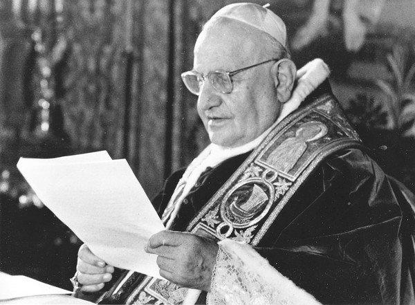 Pope John XXIII, pictured here in 1962, opened the Second Vatican Council that year.