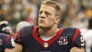 Despite missing training camp, Texans' J.J. Watt at top of his game
