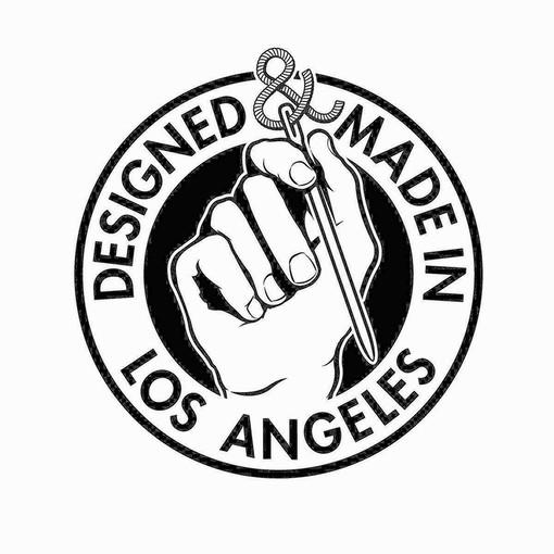 Designed/made in Los Angeles logo