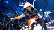 Brad Paisley's comfort zone: The old, the new (like Hollywood Bowl)