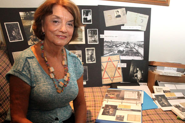 Sheila Weilheimer's husband, Richard, gave the U.S. Holocaust Museum a picture of his father lighting a prayer candle while under persecution, one of the most striking documentation of religious practice during the Holocaust.