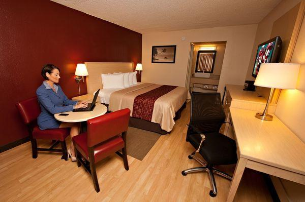 Hotel upgrades, suggested by guests, are driving higher sales at Red Roof Inn hotels.