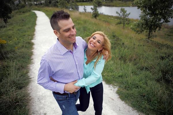 Karen Poter, 54, and her boyfriend Steve Koenig, 38