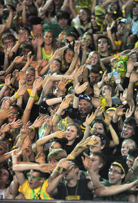 Fans at the Emmaus VS Whitehall football game held at Emmaus High School on Friday.