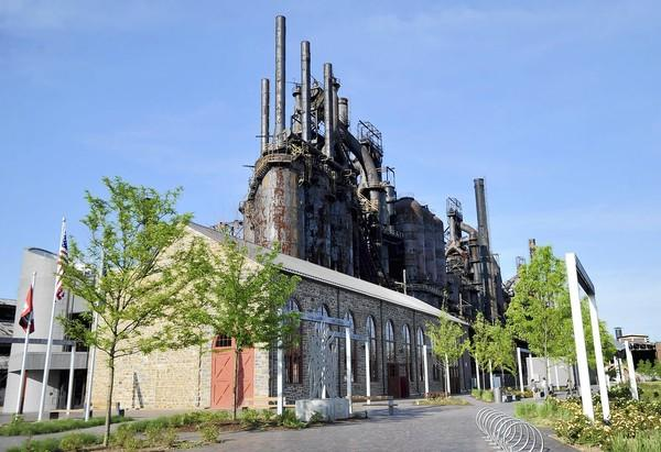 Bethlehem Landing, the visitor center at SteelStacks.