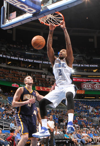 Orlando Magic's 112-96 preseason win over the Indiana Pacers at Amway Center in Orlando, Fla. Friday, October 19, 2012.