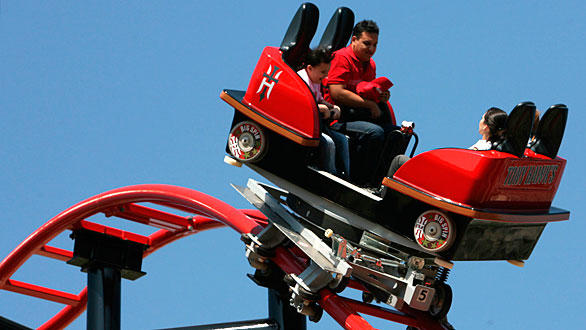 "Tony Hawk Big Spin coaster at Six Flags Discovery Kingdom will be called simply ""Big Spin."""