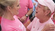Ann Romney takes part in Making Strides Against Breast Cancer 5k