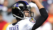 It won't be a strange experience for Ravens rookie kicker Justin Tucker on Sunday when he kicks against the Houston Texans at Reliant Stadium.