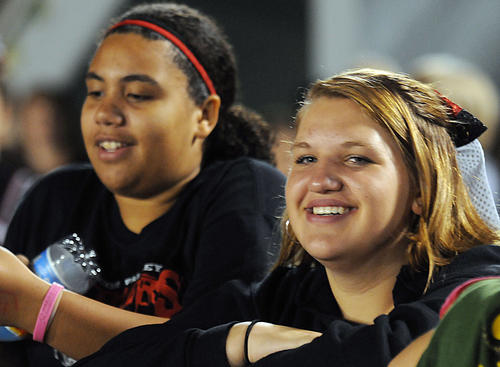Faces In The Crowd at the Saucon Valley High School homecoming football game with Southern Lehigh High School on Friday.