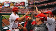 No baseball fans loved their guy more than Cardinal Nation loved <strong>Albert Pujols</strong> this time last year. But one October later, he has become the civic punch line.