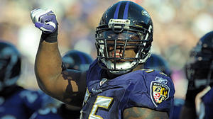 Terrell Suggs activated, could play against Texans