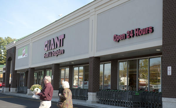 Giant Food Store at Cedar Crest and Tilghman has completed a major remodel, which included adding extra square footage onto the store and adding 21st Century technology.