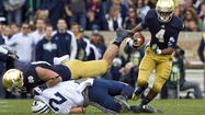 PHOTOS: Notre Dame vs. BYU Action