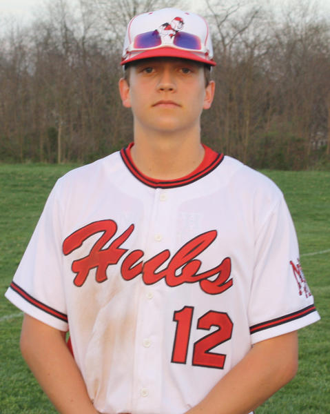 North Hagerstown senior Zane Schreiber has committed to play for NCAA Division I baseball program George Washington.