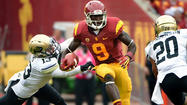 Look past the cascade of records quarterback Matt Barkley and wide receiver Robert Woods set Saturday in USC's 50-6 rout of Colorado at the Coliseum and you'll see why the Trojans had some concerns after what should have been a purely happy romp through an overwhelmed secondary.