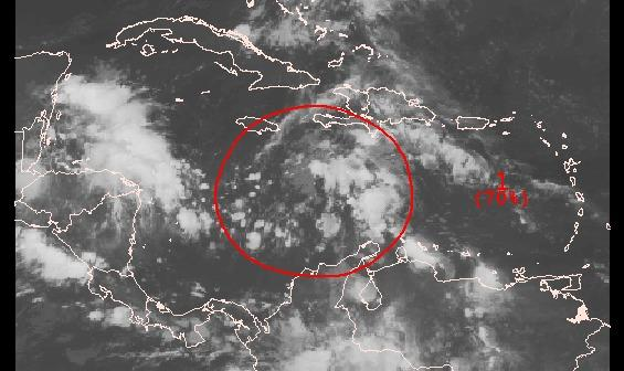 A disturbance in the Caribbean is expected to turn northeast by midweek.
