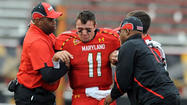 Maryland in uncertain quarterback situation as it awaits MRI on Hills