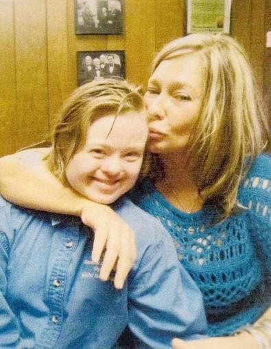 Jenny Hatch, 28, and Kelly Morris.