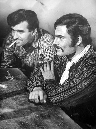 The actor earned a Golden Globe nomination as the ruthless bandit Chuy in this 1966 western.