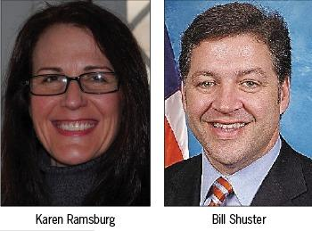 Voters headed to the polls Nov. 6 will be choosing between incumbent Bill Shuster and his opponent, Karen Ramsburg. Polls are open from 7 a.m. to 8 p.m. There is no early voting in Pennsylvania.