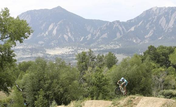 Valmont Bike Park in Boulder, Colorado