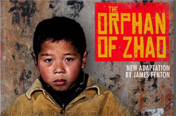"The poster for the Royal Shakespeare Co.'s production of ""The Orphan of Zhao."" The company has come under criticism for its casting of the classic Chinese drama."