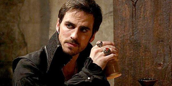 Captain Killian Jones, a.k.a. Captain Hook.