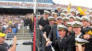 Kevin Spacey shows up to root for Navy