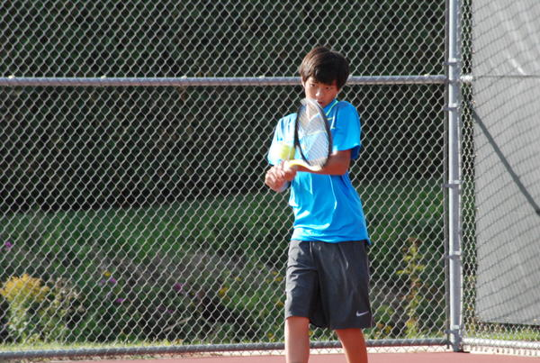 Petoskey freshman Nico Cezina advanced to the No. 4 singles semifinal round to lead the Northmen at the Division III state tennis finals Saturday in Holland. The Northmen finished seventh for a second straight season.