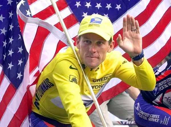 Lance Armstrong, shown here in 2000, has lost a number of sponsors over the last few days.