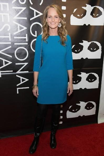 "Actress Helen Hunt attends the ""The Sessions"" premiere during the 48th Chicago International Film Festival at AMC River East October 20, 2012."