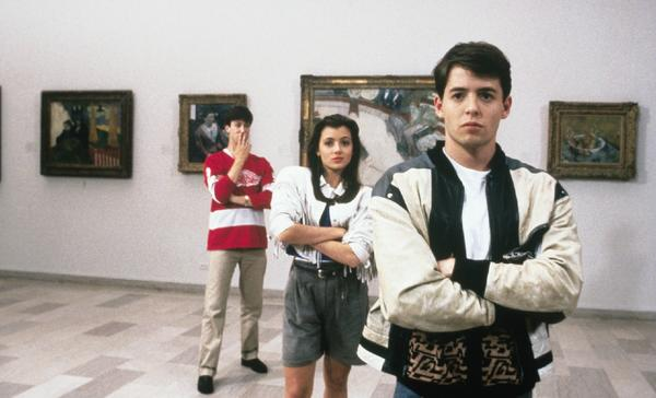 "Popular high school students such as Ferris Bueller, right, in ""Ferris Bueller's Day Off"" are likely to earn more than their less-liked peers, according to a new report."