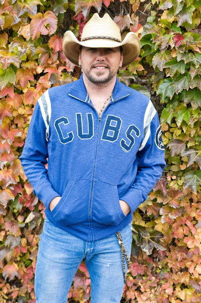 Jason Aldean attends a press conference announcing his 2013 concert at Wrigley Field.