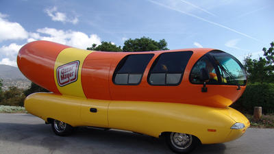 Oscar Mayer Wienermobile in South Florida