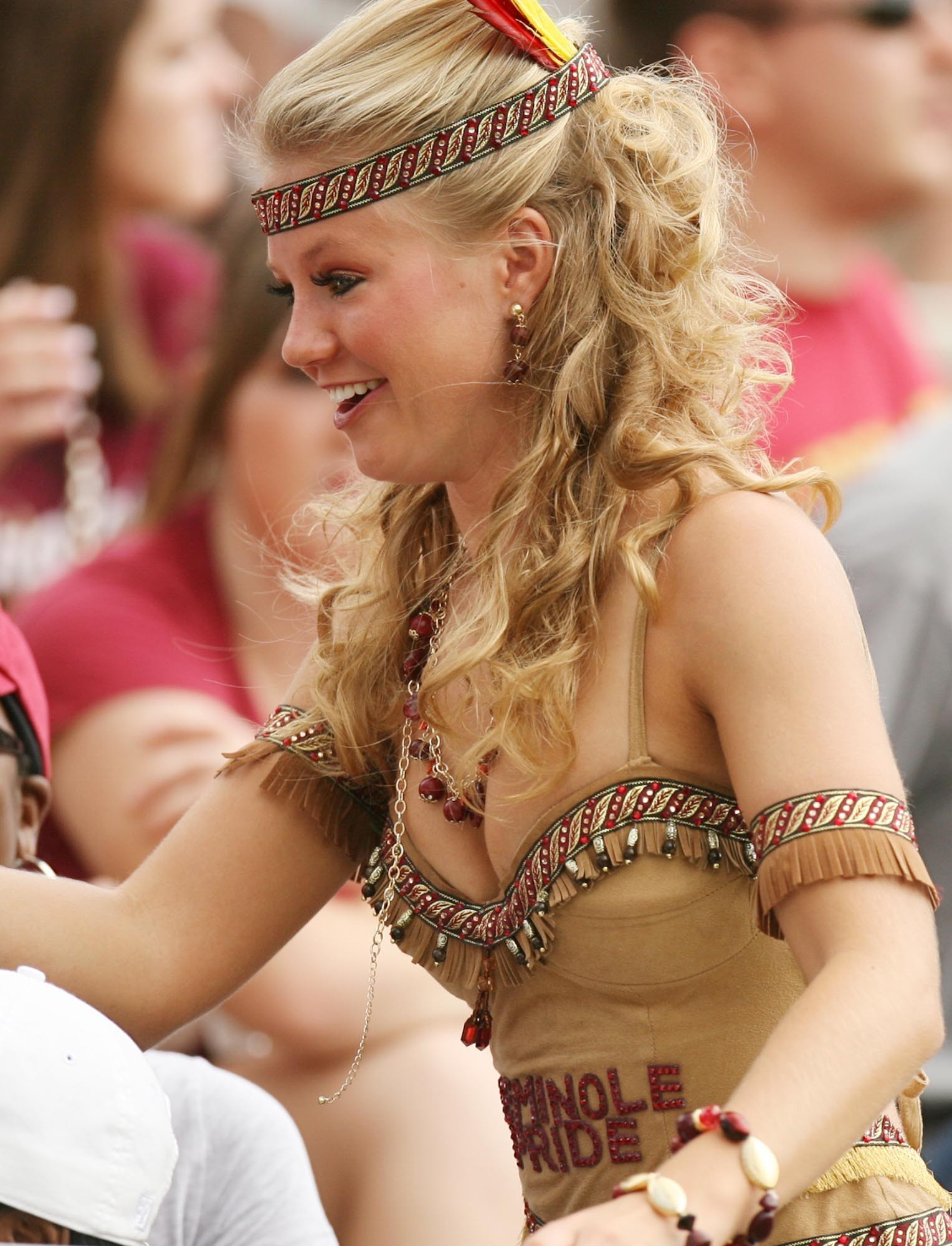 Photos: Florida State football fans and cheerleaders - FSU fan