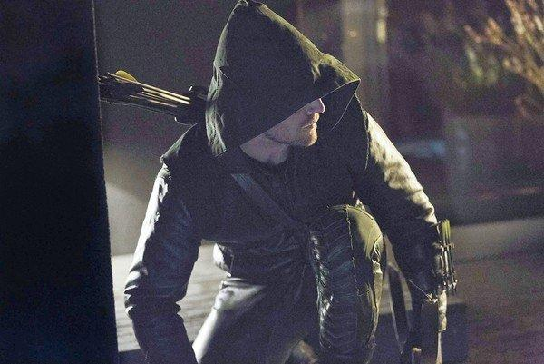 "Stephen Amell stars in ""Arrow."""
