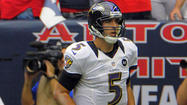 For the Ravens and Joe Flacco, there's no place like home