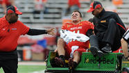 Terps quarterback Perry Hills out for the season with torn ACL