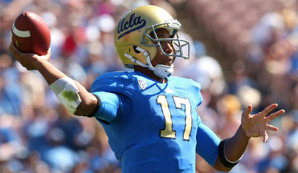 UCLA quarterback Brett Hundley will have a large cheering section when the Bruins travel to his home state to play Arizona State on Saturday.