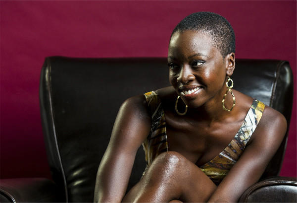 Playwright-actress Danai Gurira in Los Angeles.