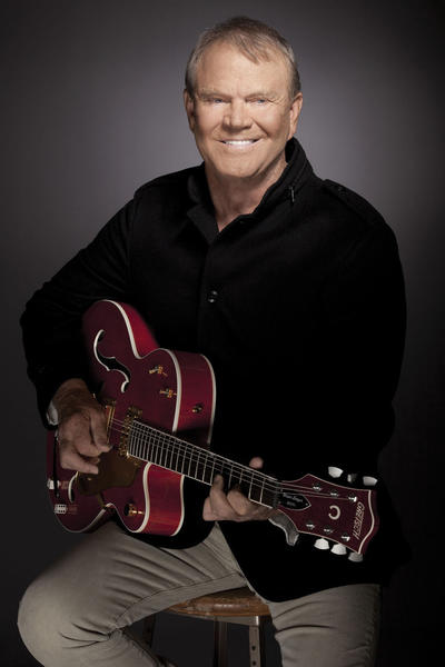 Glen Campbell will perform at 8 p.m. Saturday, Oct. 27, at H. Ric Luhrs Performing Arts Center, Shippensburg University, 1871 Old Main Drive, Shippensburg, Pa.