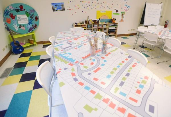 The Zacharias Sexual Abuse Center in Gurnee offers an art therapy room to its clients.