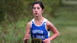 Kapaun runner Malerie Davied set high goals, then achieved them
