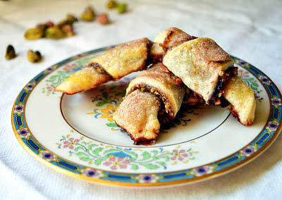 Samantha Ferraro's rugelach is one of the entries in The Times' holiday cookie contest.
